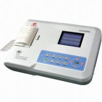 Quality Resting ECG Machine (ecg-300g), Touchscreen for Easy Operation for sale
