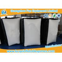 Quality 0.6mm / 0.9mm PVC Tarpaulin Inflatable Sport Games , Inflatable Paintball Bunkers for sale