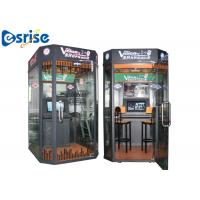 Easy Dual Game Karaoke Machine , Mobile Vocal Booth Internet Music Database for sale