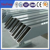 Quality Popular design and good surface greenhouse aluminum profile supplier for sale