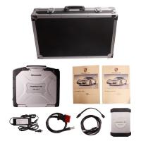 Buy Car Diagnostics Scanner Porsche Piwis Tester II With CF30 Laptop at wholesale prices