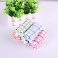 Quality Kitchen Yarn Dyed Towels Stripes Printed Tea Towels With Colorful Checkered For Dry Pot for sale