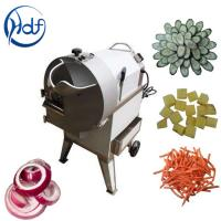 Quality Carrot Potato Dicing Commercial Vegetable Cutter 300 - 1000kg/H Capacity for sale
