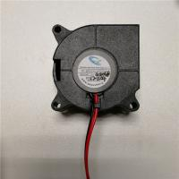 China DC 12V/24V sleeve/ball bearing brushless blower fan with wires for heated bed printing cooling on sale