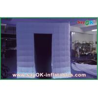 Quality Party Blow Up Photo Booth Custom Inflatable Photobooth Tent With LED Lighting for sale