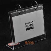 Quality Durable Custom Picture Frames/ Acrylic Photo Frames Logo Printing for sale