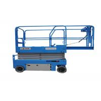 China 320kg Movable  Electric Scissor Lift Carts 381*127mm Tire Size High Capacities on sale