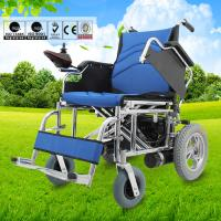 Buy Professional Home Care Electric Folding Wheelchair For Elderly People 52kg at wholesale prices