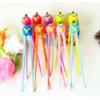 Buy cheap High Quality Wholesale Custom Silicone Kids Training Chopsticks Sample Free from wholesalers