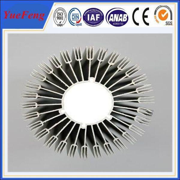 Buy custom aluminium extrusion heatsink, OEM aluminum heatsink extrusion profile at wholesale prices