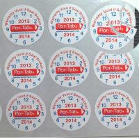 Quality Special Broken Ultra Tamper Proof Stickers , Irremovable Security Seal Stickers for sale