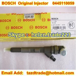 Quality BOSCH Original and New CR Injector 0445110059 / 0 445 110 059 original and genuine for sale