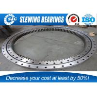 China Large Heavy Duty Turntable Bearing , Slewing Ring Bearings with 50Mn material on sale