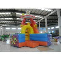 Quality Space Theme Commercial Inflatable Water Slides Digital Printing High Slide Jumping Castle for sale
