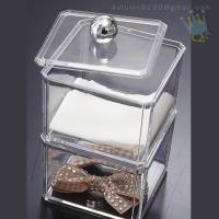 Quality CB (63) crystal acrylic makeup organizer for sale