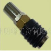 Quality European universal hose barb 6*14 with rubber pipe shroud quick coupler for sale