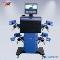 Quality Quick Track Mobile Wheel Alignment Equipment Electronic Automatic Golden Eye Drive for sale