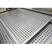 Quality 1.22x2.44m oval hole galvanized perforated metal sheet for Eastern Europe / hole hexagonal perforated sheet metal for ce for sale
