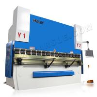 Quality HARSLE hydraulic sheet metal press metal brake CNC bending machine for aluminum window for sale