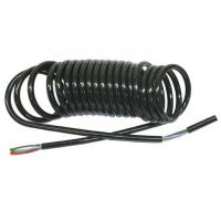 Quality Coiled Power Cord  , Curly Electric Cable For Truck Trailer Signal Transmission for sale