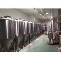Quality Restraurant Micro Stainless Steel Beer Fermentation Tanks 2000L Mirror Polished for sale