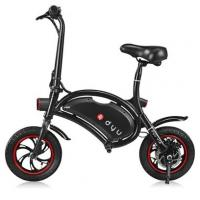 Quality YOLCART.COM F - wheel DYU 12 inch 10Ah Folding Electric Bike ( Deluxe ) - BLACK for sale