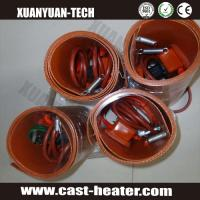 China flexible silicone rubber heater oil drum heater on sale