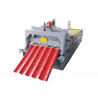 Quality 28-220-1100 Aluminum Roof Panel Roll Forming Machine , Tile Forming Machine for sale