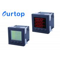 Quality 80~270V Multifunction Digital Panel Meter With Programmable Measurement for sale