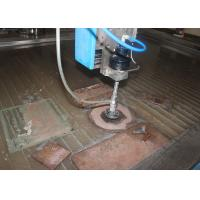 Quality Small 5 Axis Water Jet Steel Cutting Machine , Desktop Water Jet Cutter Computerized for sale