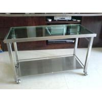 China stainless steel rolling table on sale