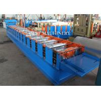 Buy Roofing Sheet Standing Seam Roll Forming Machine High Speed 8-12m/min at wholesale prices