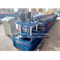 Quality 80 - 300 Mm C Purlin Roll Forming Machine Manual Change Size Energy Efficiency for sale