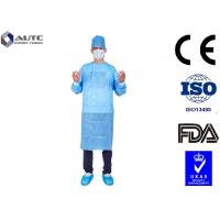 Quality PP Disposable Medical Workwear Garments , Hospital Surgical Scrubs Non Woven for sale
