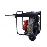 China Cast Iron High Pressure Water Pump Big Fuel Tank KDP30H With Handles And Wheels on sale