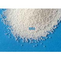 Quality High Toughness ZrO2 62-66% Ceramic Bead Blasting Material Shot Peening B20 - B400 For Surface Preparation for sale