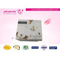 Quality White Anion Sanitary Napkin Napkins With Super Absorbent , Strip Package for sale