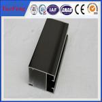 Quality anodised aluminium profiles for door window aluminium frame for sale