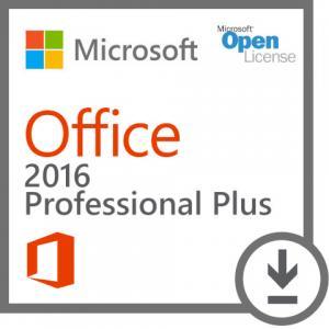 Windows Office 2016 Key Code Professional Plus 2016 Open Academic 1 GB 32 Bit