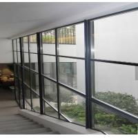 Quality curtain wall aluminum windows glass wall for sale