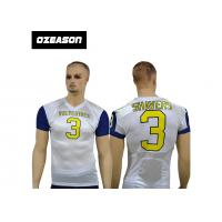 Quality new design custom american sublimation tackle football uniforms american rugby training jersey for sale