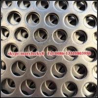Quality perforated sheet/perforated metal sheet/round hole perforated metal for sale