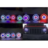 "Quality Jeep JK Wrangler 7"" HID & LED Headlights 7 Color Options for sale"