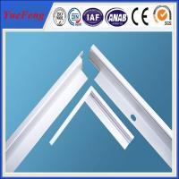 Buy Aluminum Profile for PV Solar Panel Frame at wholesale prices