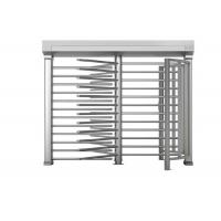 Buy Fingerprint reader Full Height Turnstile double entrance Turnstyle Gates OEM outdoor at wholesale prices