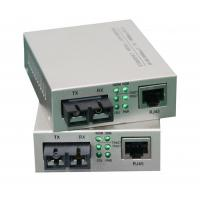 Single Mode Fiber Optic Media Converter Rj45