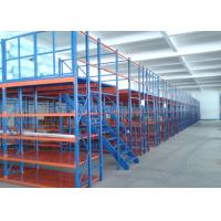 Quality Multi Shelf Durable Conventional Industrial Mezzanine Floor System / High Density Mezzanine Pallet Racking for sale