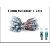 Buy 12mm 5V RGB led light 1903IC Fullcolor led signage outdoor colorchanging advertising signs at wholesale prices