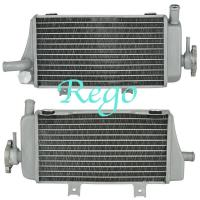 Quality HONDA CRF450 2005-2008 Aluminum Motorcycle Radiator Cooler Cooling Aluminum Radiator for sale