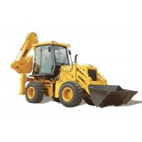Quality Small WZ30 25 Backhoe Loader 2500kg Rated Load With Cummins Engine CE Approved for sale